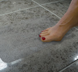 People Treads for Slippery Tile Bare Foot